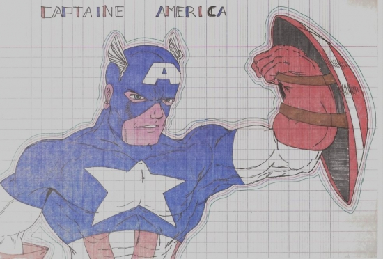 Captain America by sandrab1179